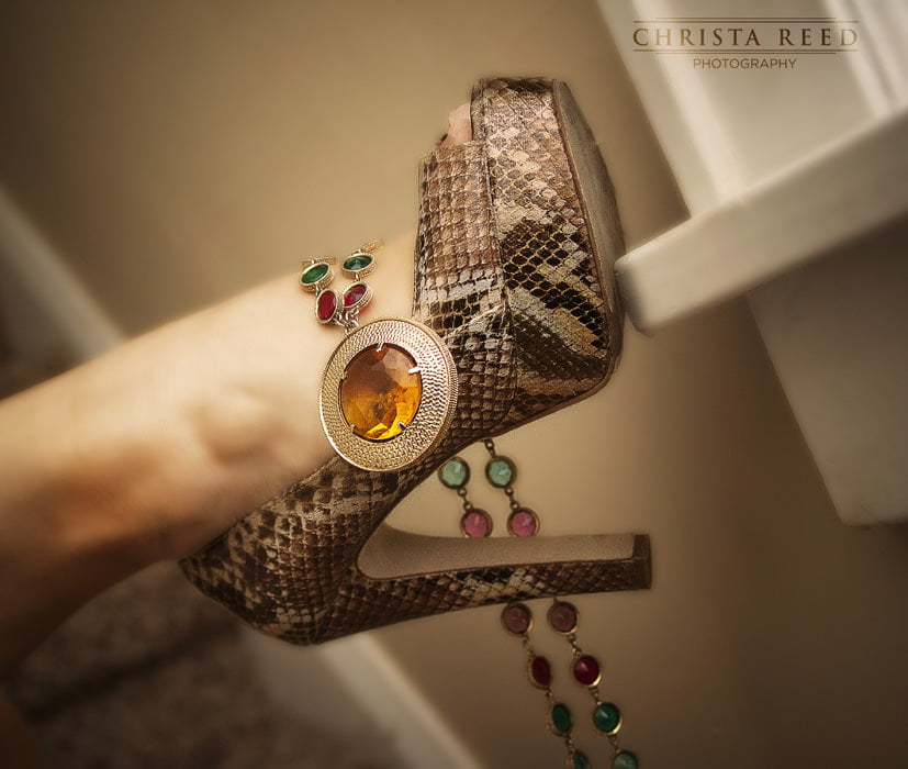 Minnesota Fashion Photography: Snake Skin and Jewels