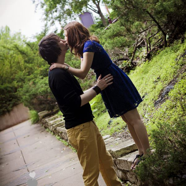 Edina, Minnesota Engagement Photography | Centennial Lakes Engagement Shoot