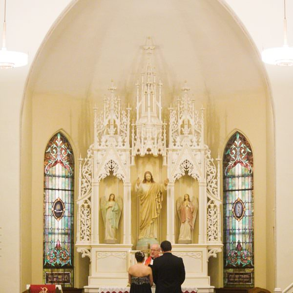 St. John Lutheran Church Wedding in Belle Plaine | Bryn + Brandan