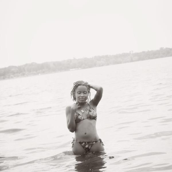 Lake Calhoun Outdoor Boudoir Bikini Photographer