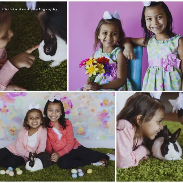 Chanhassen Easter Portraits: Krystal, Cherish, and Aveana