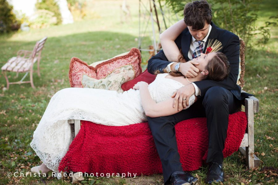 Rubies and Rust Wedding Barn Belle Plaine | Thea + Mike's Wedding