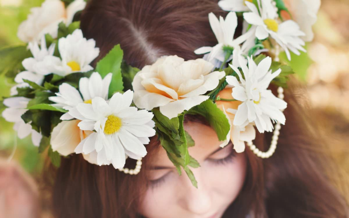 Southern Minnesota Wedding Photography | Wedding Inspiration | Boho Chic Flower Crown