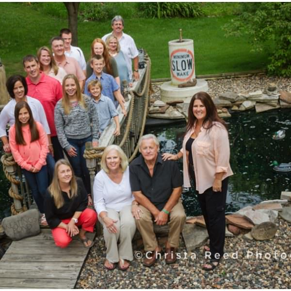 Prior Lake Family Photograph | Backyard Family Portraits | Extended Family