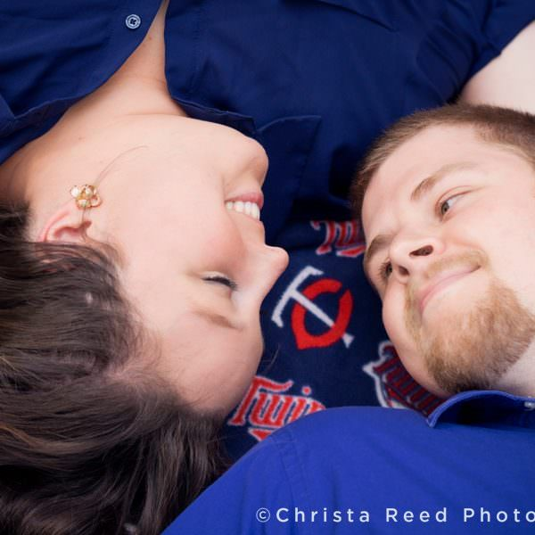 Outdoor Engagement Portraits Belle Plaine | Kayla + Mike