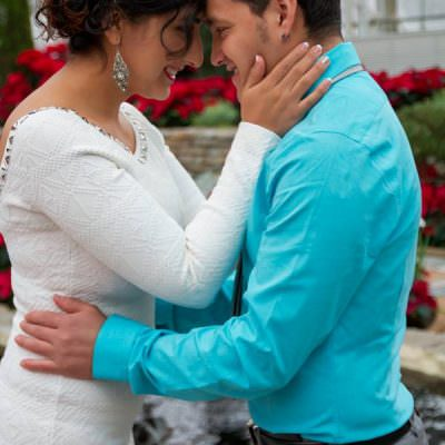 Intimate Christmas Elopement | Como Conservatory Wedding Photography