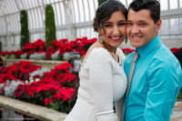 wedding photography at como conservatory