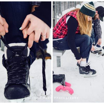 Minnesota Outdoor Winter Engagement and Portrait Tips