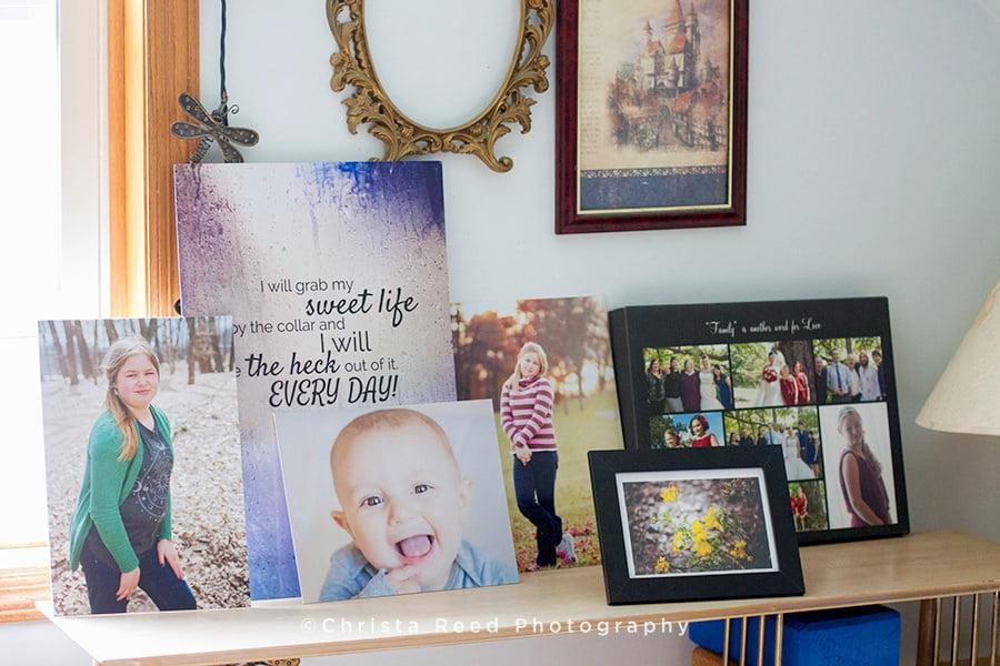 Photo Inspiration Wall | Minnesota Family Photographer Who Prints