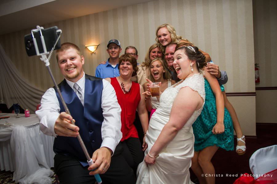 wedding reception at the grand palms in chaska wedding photography