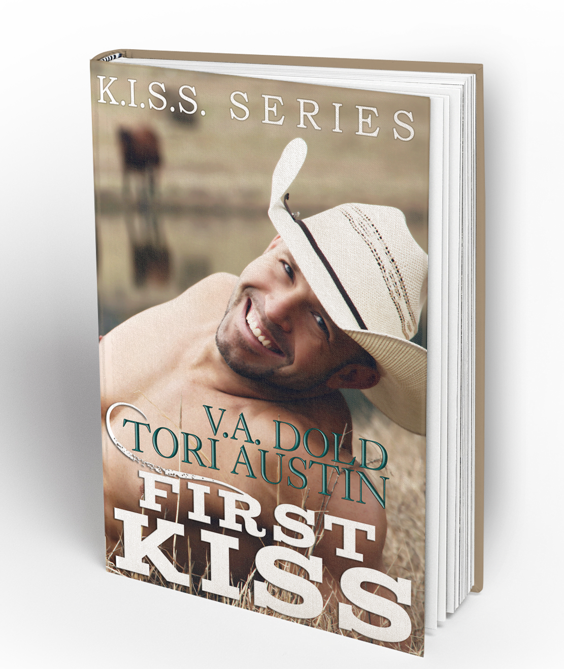 book cover design for cowboy romance
