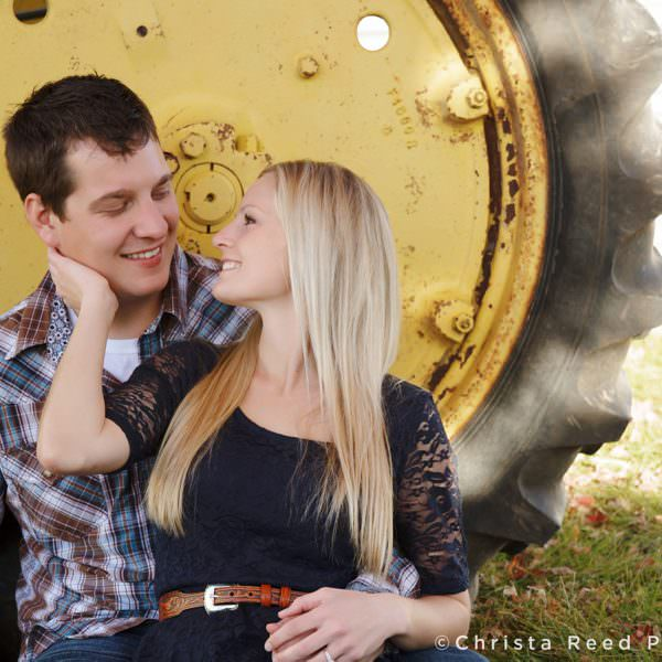 Brittney + Johnny's Cornfield Engagement | Belle Plaine MN Wedding Photographer