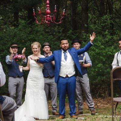 Minnesota Backyard Wedding | Susie + Andy