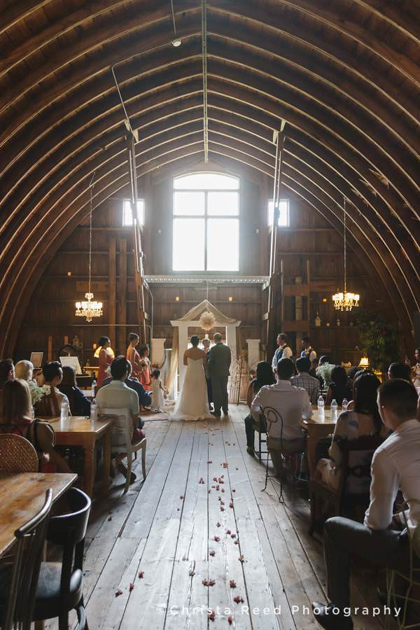 Minnesota Barn Wedding Rubies and Rust