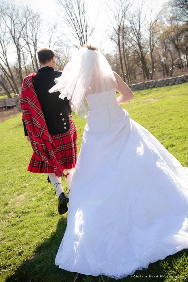 minnetonka wedding photographer Scottish wedding