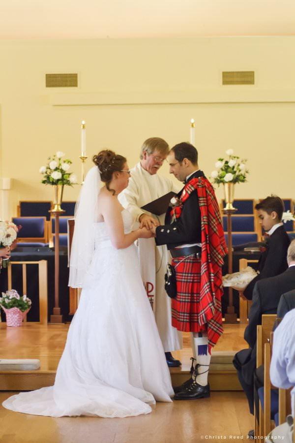 minnetonka wedding photographer church ceremony
