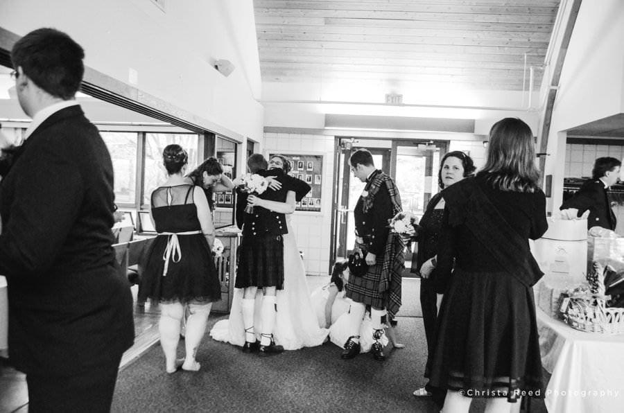 minnetonka wedding photographer black and white documentary