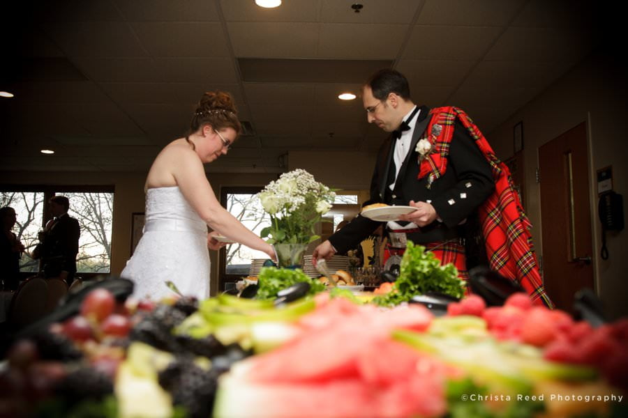 minnetonka wedding photographer small reception
