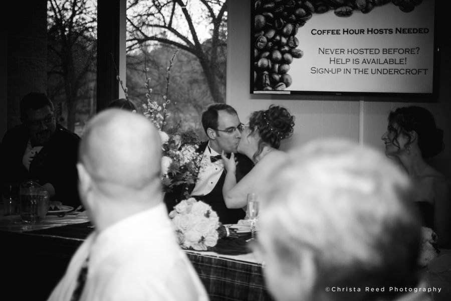 minnetonka wedding photographer kiss