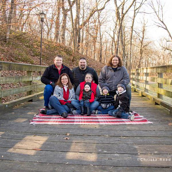 Owatonna Outdoor Portrait Photographer | Extended Family Portraits