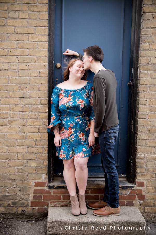 romantic and hipster couples and engagement by Belle Plaine Minnesota Couples Photographer