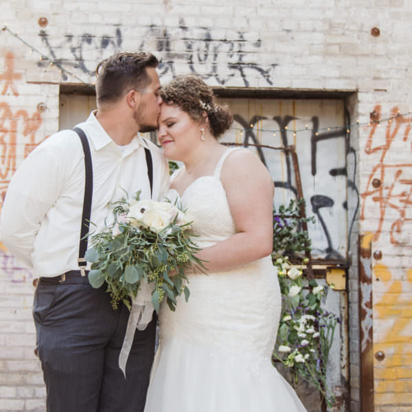 Cody & Mackenzie's St. Paul Wedding at Flat Earth Brewing