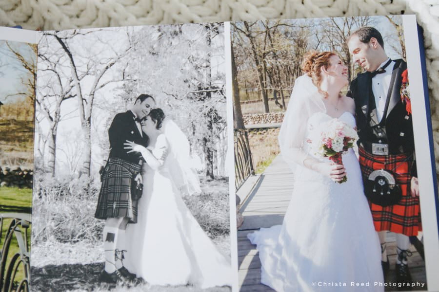 leather wedding albums large pictures