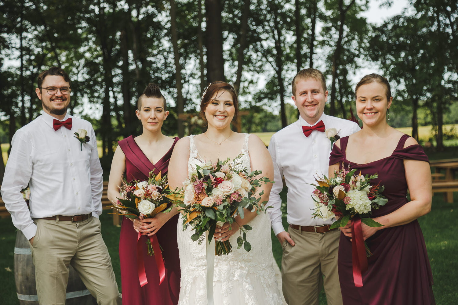 planning your wedding timeline for portraits