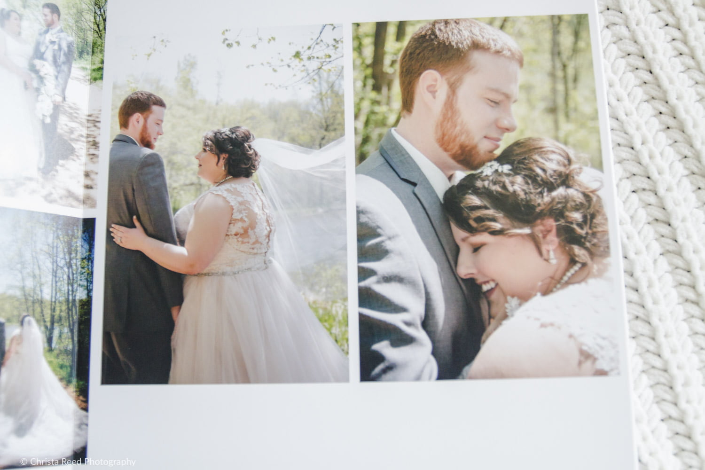 album layout by chaska wedding photographer