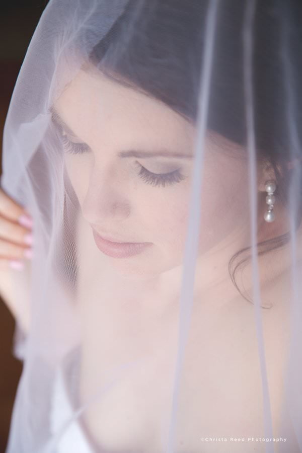 a woman in a veil from pre-wedding portraits and bridal portraits by Minnesota photographer