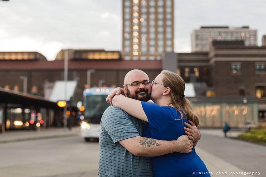 St. Paul Engagement Photos At Union Depot