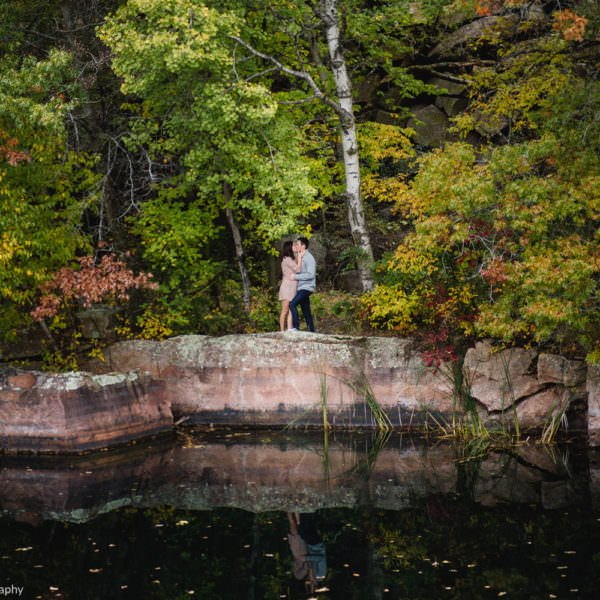 St. Cloud Quarry Park Engagement Photographer