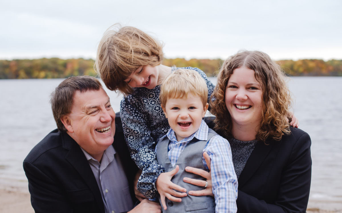 Fall Family Photos in Chanhassen