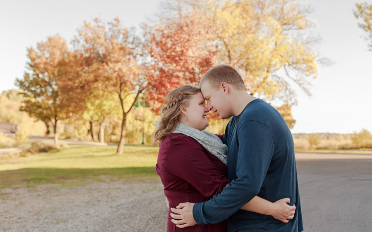 White Bear Lake Engagement Shoot