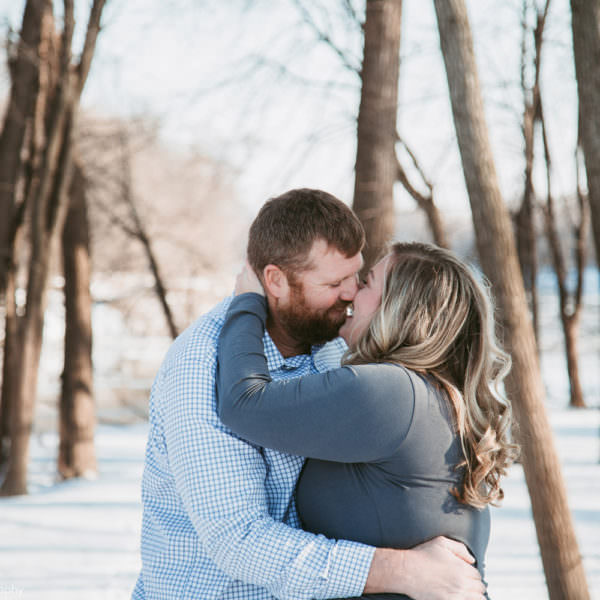 Engagement Shoot in Carver Mn