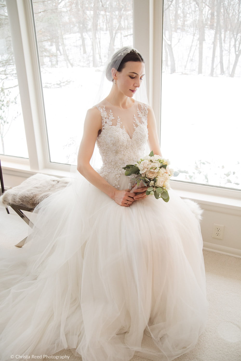 minnetonka wedding in the winter