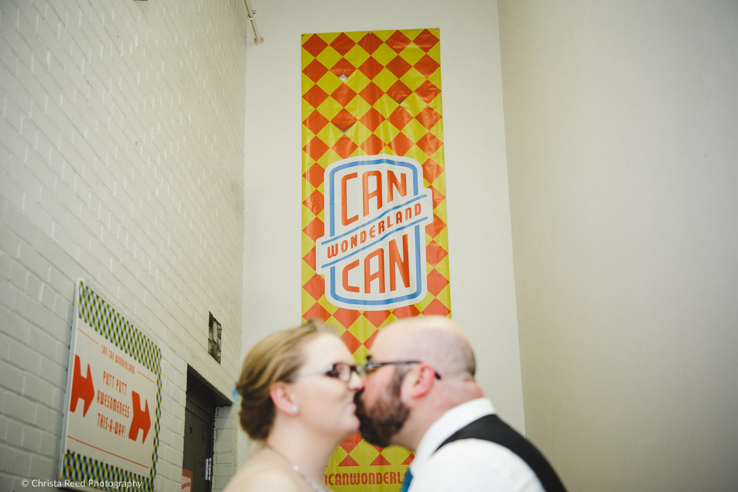 wedding photography at Can Can Wonderland