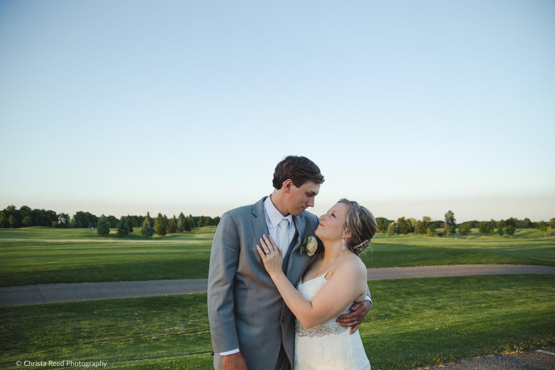 wedding photography portrait at Ridges at Sand Creek in Jordan Minnesota