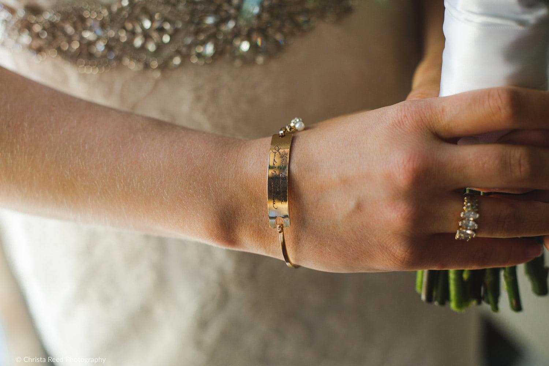 bridal detail photo