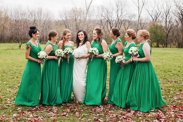 mankato wedding photographers farm wedding