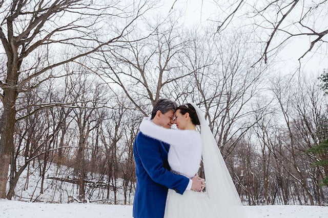 winter wedding photography in Minneapolis