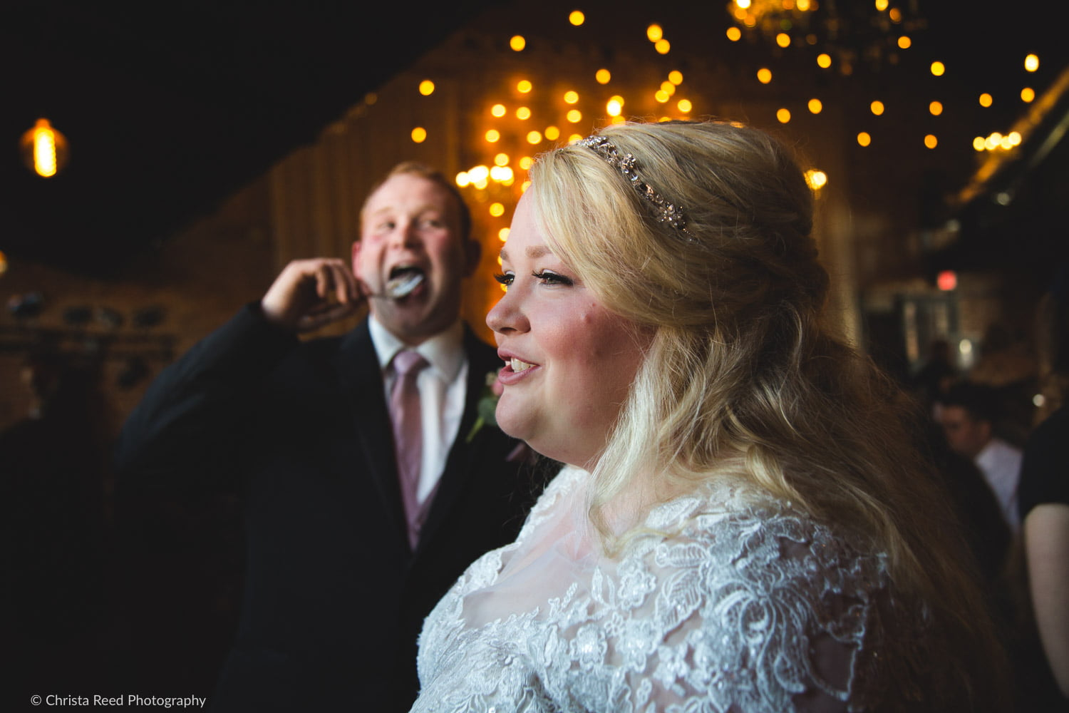 funny moments with documentary wedding photography
