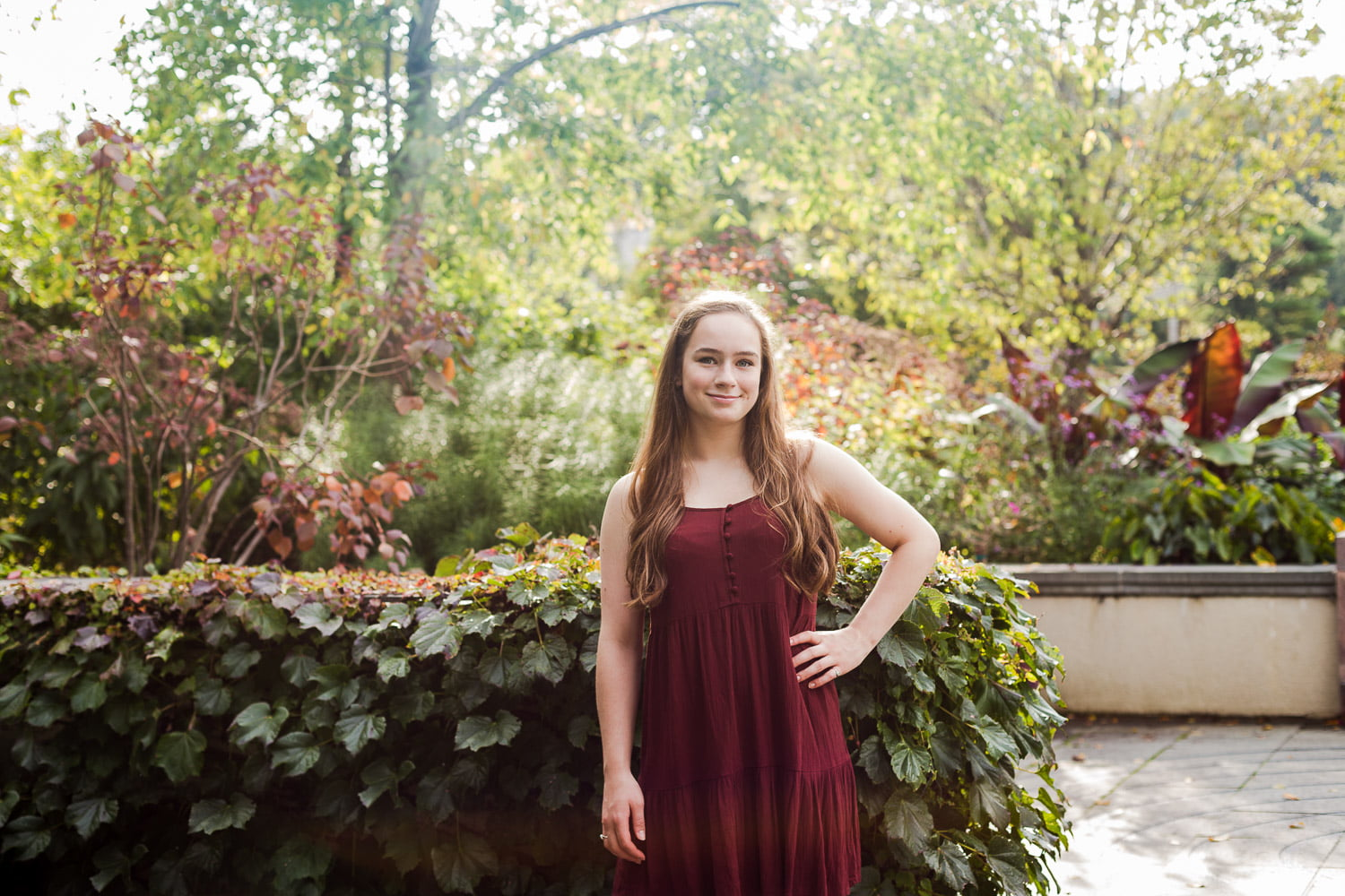 New Prague High School Senior Portraits at the Landscape Arboretum