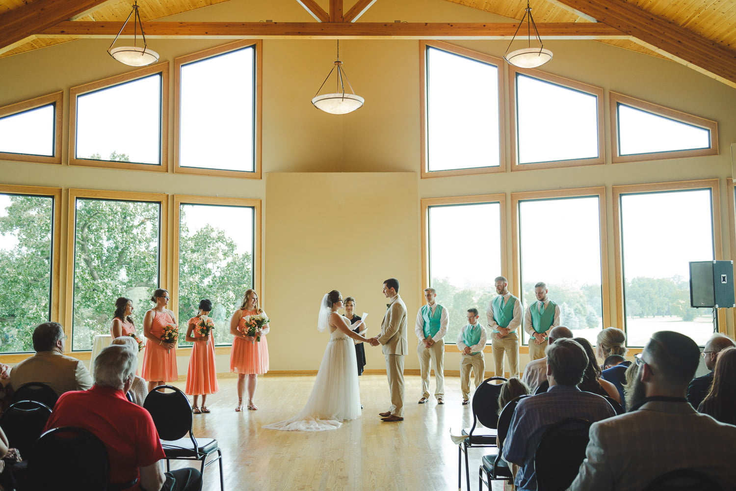inddor wedding riverview greens rochester mn