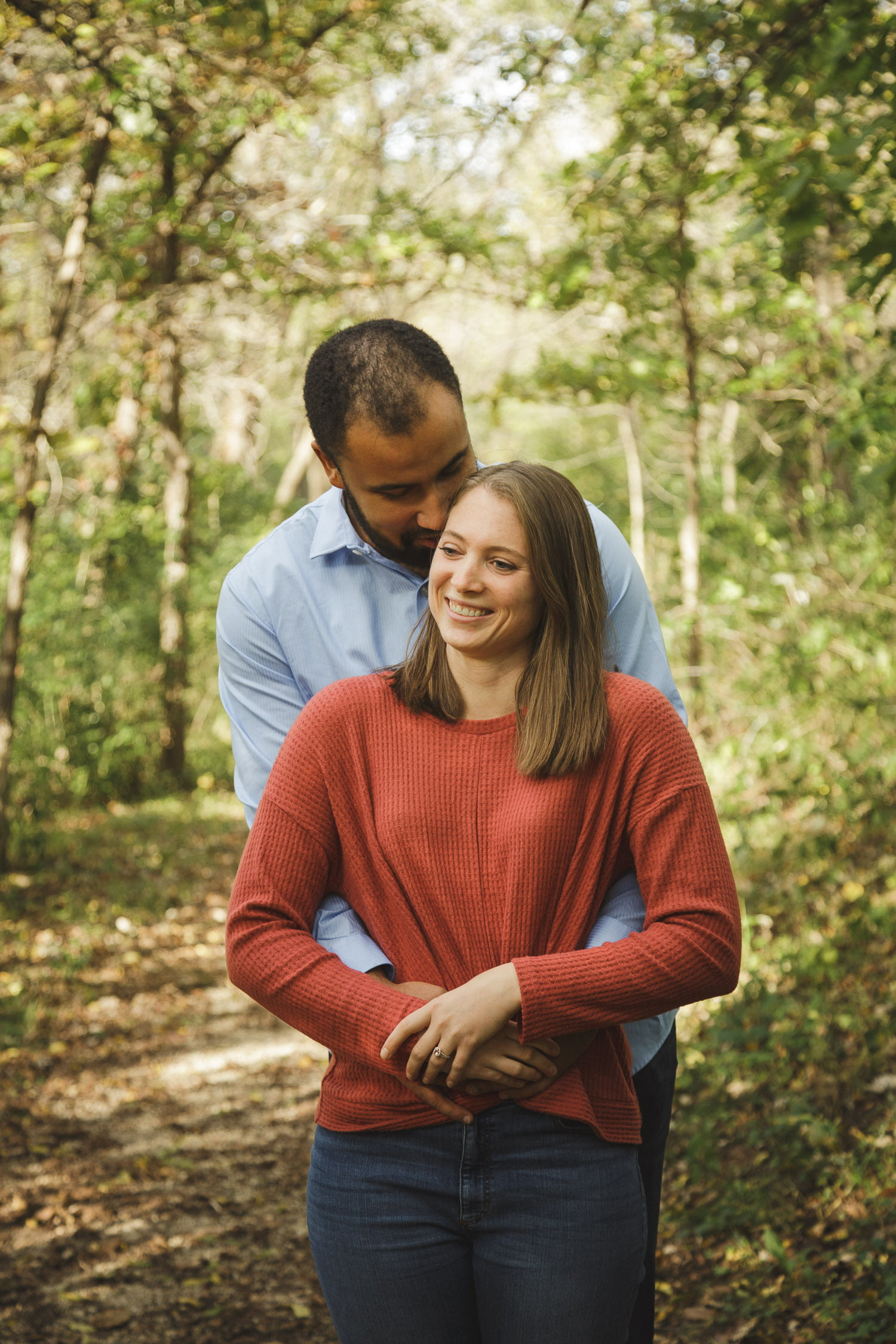 fall engagement photography in Northfield Minnesota