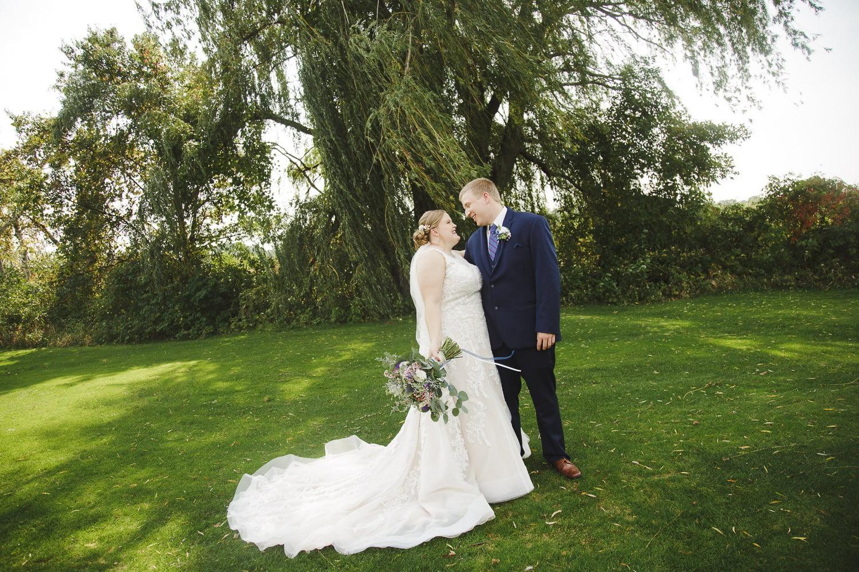 wedding photographers at bunker hills golf course