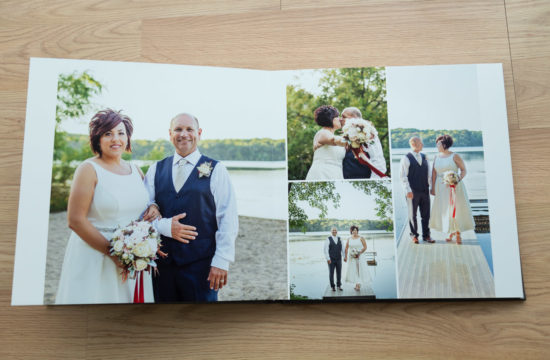 emotional wedding album design