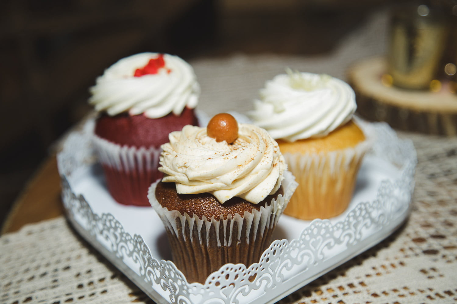 cupcakes by dangerfields wedding catering