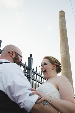 can can wonderland wedding photographers in St. Paul