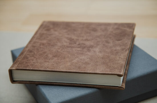 peronalized wedding albums from Rubies and Rust wedding
